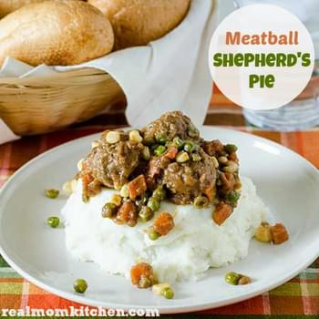 Meatball Shepherd's Pie