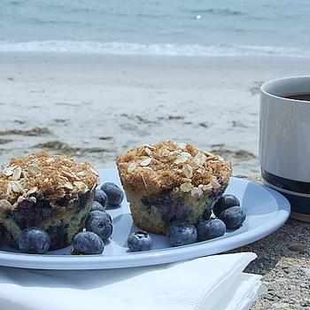 Blueberry- Cinnamon Muffins