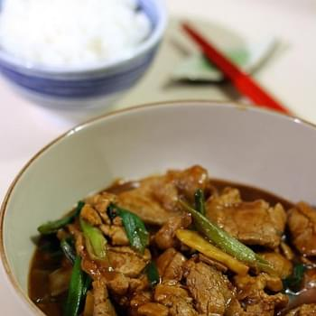 Pork With Ginger And Spring Onion 姜葱猪肉
