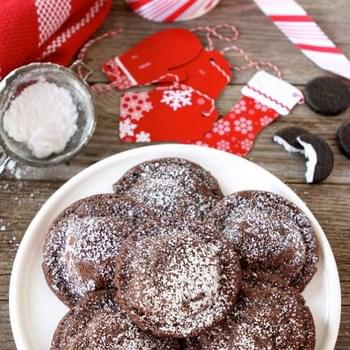 Chocolate Peppermint Patty Cookies