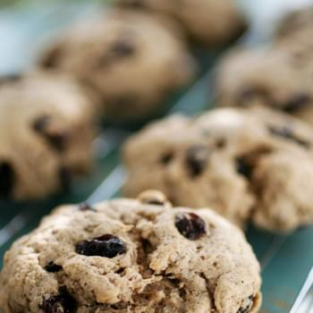 Gluten-Free Cinnamon Raisin Scone