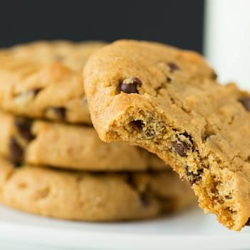 Peanut Butter-Pretzel Chocolate Chip Cookies