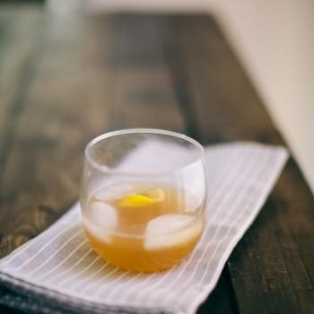 Bourbon, Lemon, and Honey