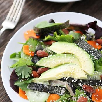 Asian Salad with Soy-Ginger Vinaigrette