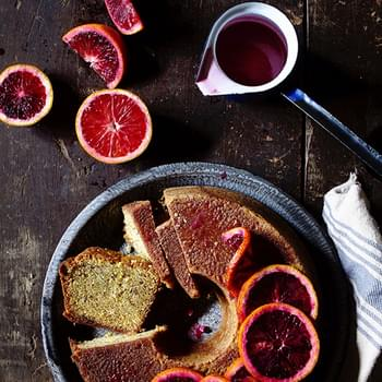 Blood Orange Pound Cake