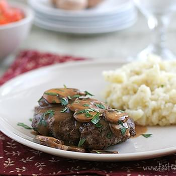 Mama's Salisbury Steak with Mushroom Gravy