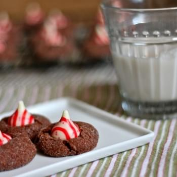 Candy Cane Thumbpints