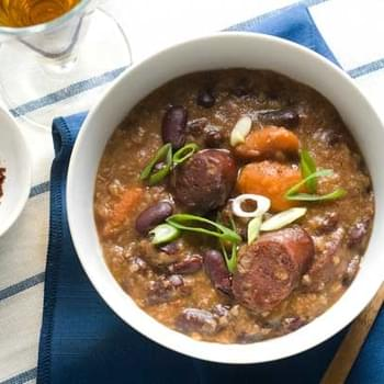 Gluten Free Red Beans and Rice Soup