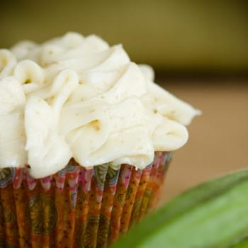 Okra Cupcakes with Fennel Frosting