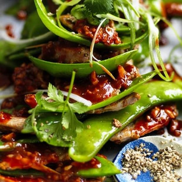 Stir-fried Pork With Hot Bean Paste