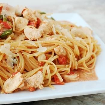 Cajun Chicken Skillet with Pasta – a take on Basic Chicken Skillet meal builder