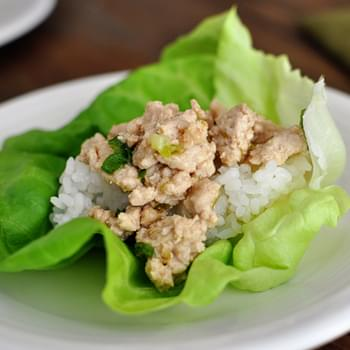 Asian Chicken Lettuce Wraps {Quick and Delish}