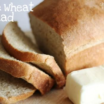 Whole Wheat Bread (our family recipe)