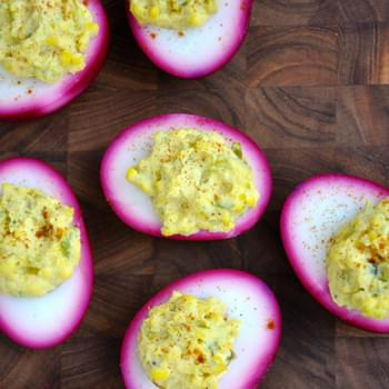 Pickled Deviled Eggs