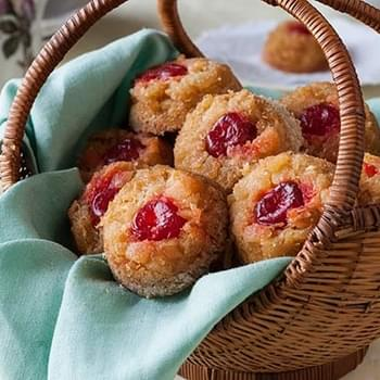 Gluten Free Pineapple Upside Down Biscuits