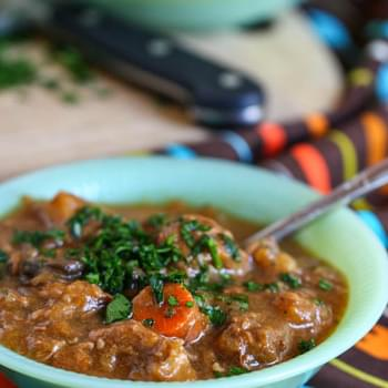 Crock Pot Beef and Butternut Squash Stew
