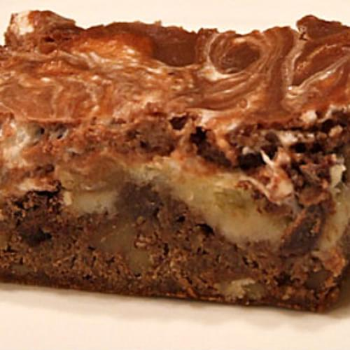 Rocky Road Fudge Bars
