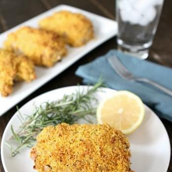Rosemary-Lemon Oven-Fried Chicken