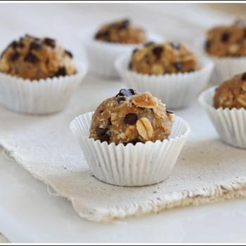 Oatmeal Cookie Dough Bites