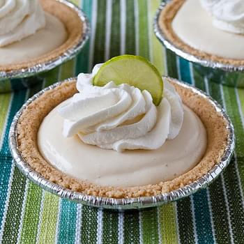 No Bake Key Lime Mini Pies