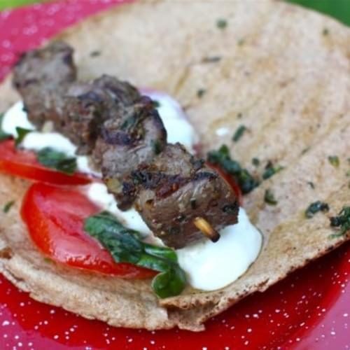 Cumin & Oregano Marinated Beef Kebabs
