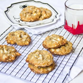 White Chocolate Macadamia Chunk Cookies