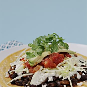 Spicy Black Bean Tacos