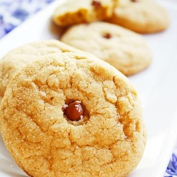 Brown Sugar Cookies with Fleur de Sel