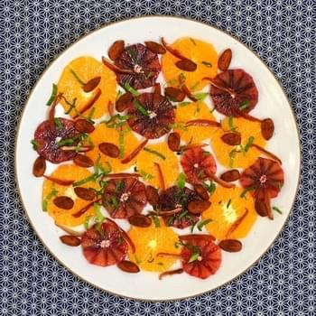 Orange, Almond & Date Salad