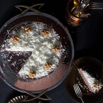 Chocolate Nocello Mousse Cake