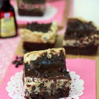 Chocolate Chip Mint Cookie Brownies