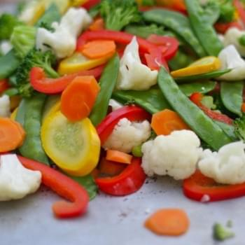Stir-fry Vegetable Freezer Packages