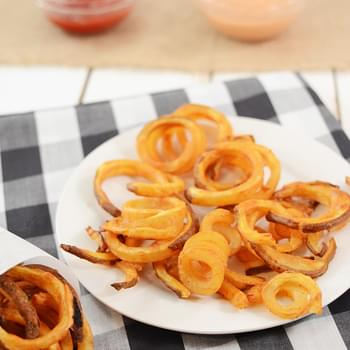 Oven Baked Curly Fries – Arby's Copycat