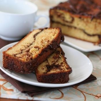 Orange Chocolate Swirl Bread – Low Carb and Gluten-Free