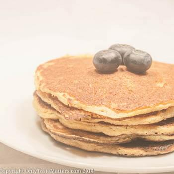 Lemon Ricotta Corncakes/Pancakes and a Gluten-free Mother's Day Brunch Menu