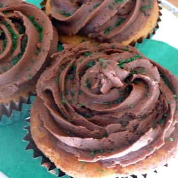 Bailey's and Coffee Brownie Cupcakes