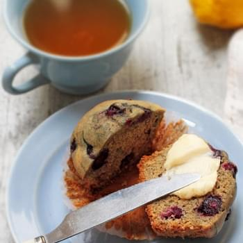 Karina's Gluten-Free Lemon-Blueberry Muffin