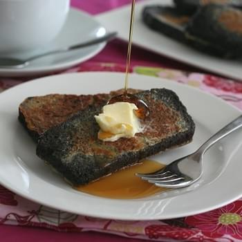 Chocolate Pound Cake and Chocolate French Toast