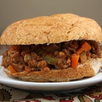 Low Fat Sloppy Joes