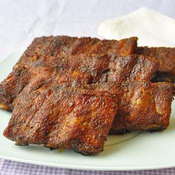 Foolproof Dry Rubbed Oven Ribs
