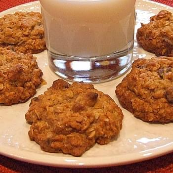 Wild and Crazy Oatmeal- Chip Cookies