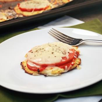 Mini Cauliflower Crust Pizzas