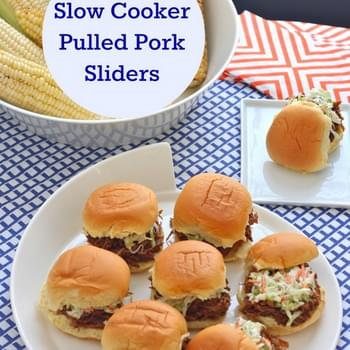 Slow Cooker Pulled Pork Sliders