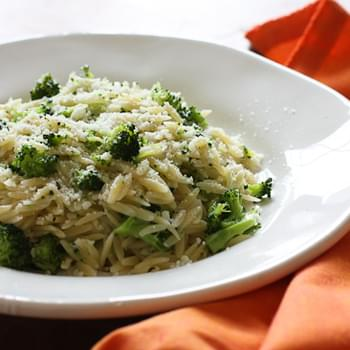 Broccoli and Orzo