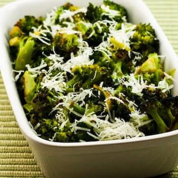 Roasted Broccoli with Lemon and Pecorino-Romano Cheese