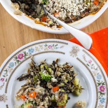 Broccoli-Wild Rice Casserole