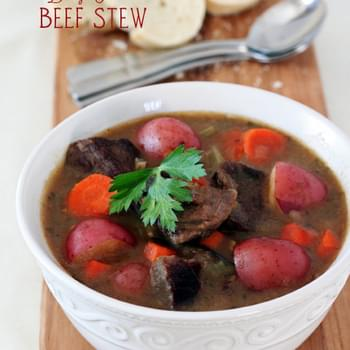 Classic Beef Stew with Baby Potatoes