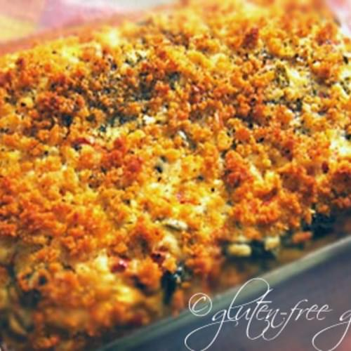 Roasted Vegetable Kugel with Gluten-Free Noodles