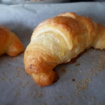 Lemon Filled Croissants