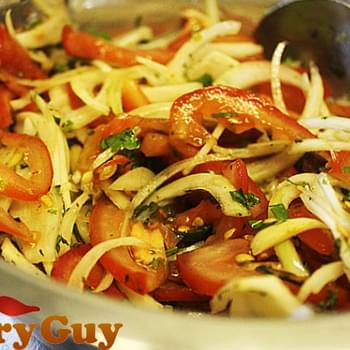 Tomato, Onion And Mint Salad